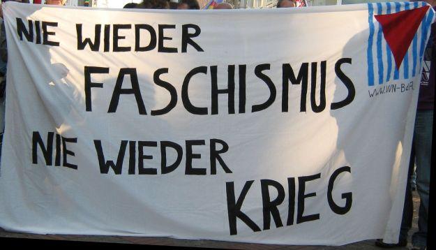 Antikriegstag 2011 Nie wieder Faschismus Nie wieder Krieg